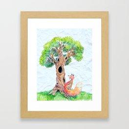 The Spirit Tree V2 Framed Art Print