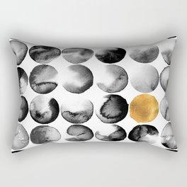 Cosmopolitan Abstract Rectangular Pillow