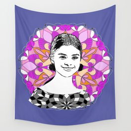 Sel in the stars Wall Tapestry