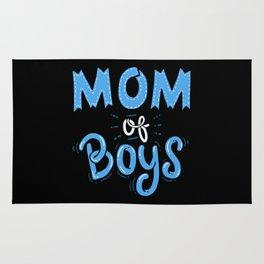 Mom of Boys. - Gift Rug