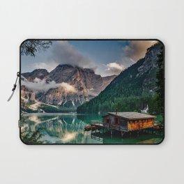 Italy mountains lake Laptop Sleeve