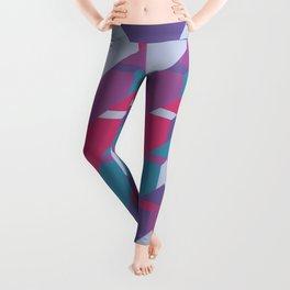 Cool Waves #society6 #violet #pattern Leggings