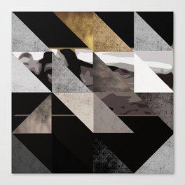 u2's the joshua tree triangles Canvas Print