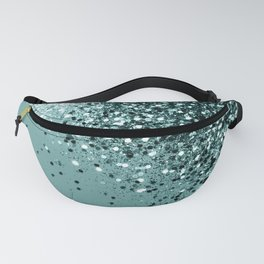 Teal Mermaid Ocean Glitter #1 #shiny #decor #art #society6 Fanny Pack