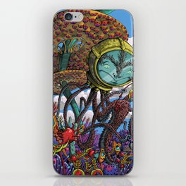 Otherworldly Ecologist iPhone Skin