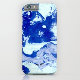 How the Ink Moves VII iPhone Case