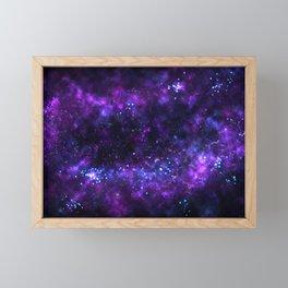Cosmos - Purple Framed Mini Art Print