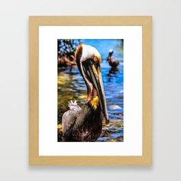 Key Largo Leeward Framed Art Print