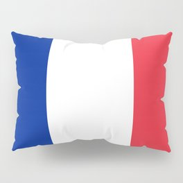Flag of France, Authentic color & scale Pillow Sham