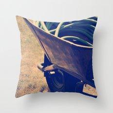 Yardwork Throw Pillow
