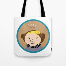 Smart like Ada Lovelace Tote Bag