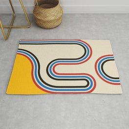 Mid century modern, mid-century wall art, print, geometric wall art, abstract wall art, interior, ma Rug