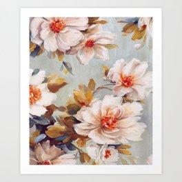 FLORAL - 7218/1 Art Print