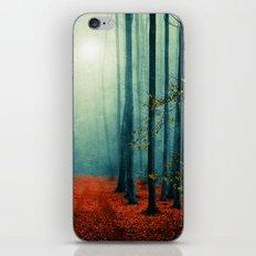 Landscape (colour option) iPhone Skin