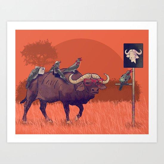 I'll take the buffalo Art Print