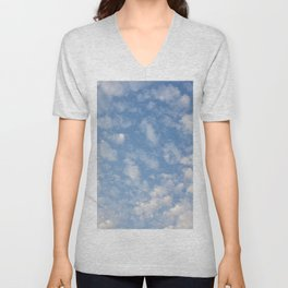 Cotton Clouds Unisex V-Neck