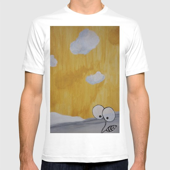 Plant with Yellow Sky T-shirt