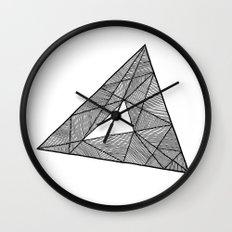 Triangle Wall Clock