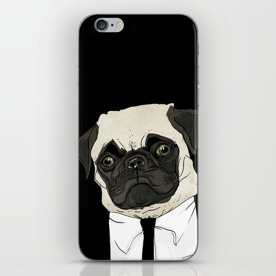 puggetaboutit iPhone & iPod Skin