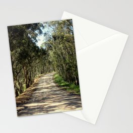 Along a dirt Road Stationery Cards