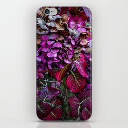 Holy Hydrangea VI iPhone Skin