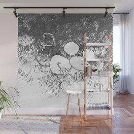minima - deco mouse Wall Mural