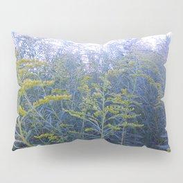 Blue Goldenrod Pillow Sham