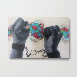 Break Every Chain Metal Print