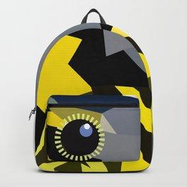 Bird art canada warbler Yellow gray Backpack