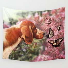 Curious  Wall Tapestry