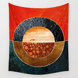 Abstract #143 Wall Tapestry