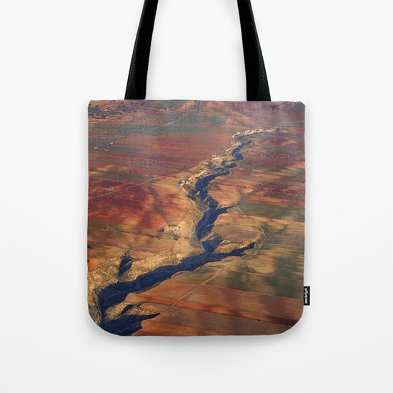 Wounds in the ground Tote Bag