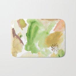 Fall Morning Abstract Bath Mat