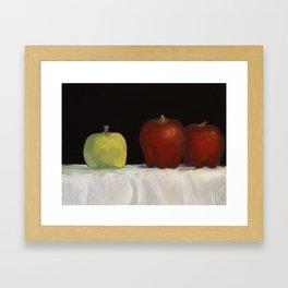 Still Life Oil Painting Framed Art Print