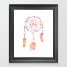 Flower Power Dreams  Framed Art Print