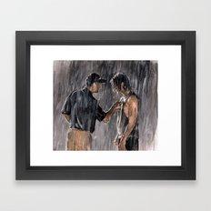 Texas Forever Framed Art Print