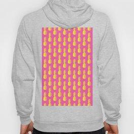 Pineapples - Pink & Yellow #203 Hoody