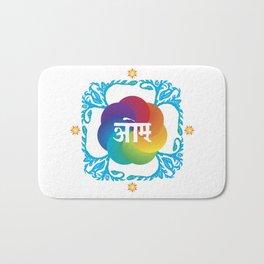 OM Mandala Bath Mat