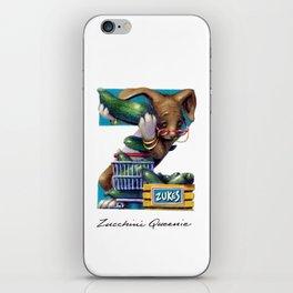 Zucchini Queenie iPhone Skin
