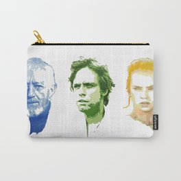 Ben, Luke and Rey Carry-All Pouch