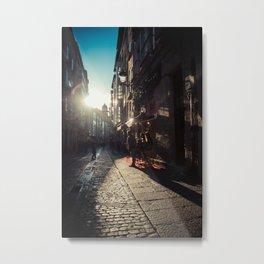 Calle Puebla Metal Print