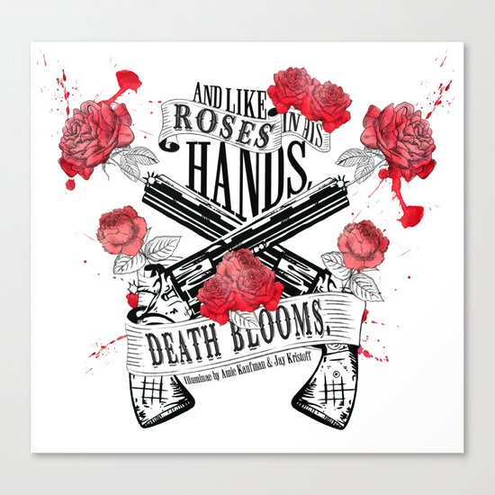 Illuminae - Death Blooms Canvas Print