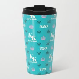 Karla Kush Pattern Travel Mug