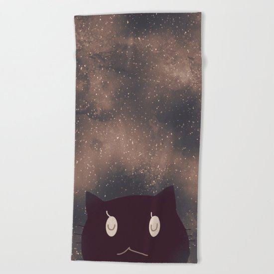 cat-14 Beach Towel