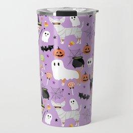 Chihuahua halloween cute spooky seasonal dog pattern chihuahuas Travel Mug