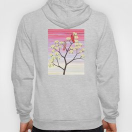cardinals and dogwood blossoms Hoody
