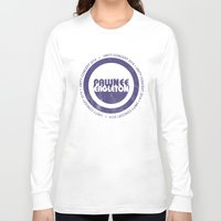 concert Long Sleeve T-shirts featuring pawnee/eagleton unity concert  by studiomarshallarts