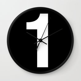 Lucky number: 1 Wall Clock