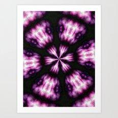 purple trip Art Print