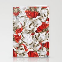 roman Stationery Cards featuring Roman Collage by Eleaxart
